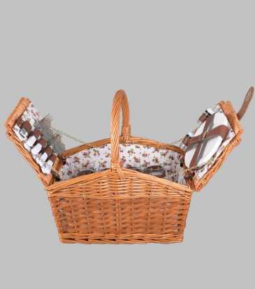 Willow picnic basket Tan