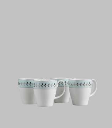 Rosemary Coffee Mugs Set of 4