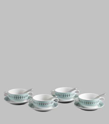 Rosemary Soup Set with Spoon