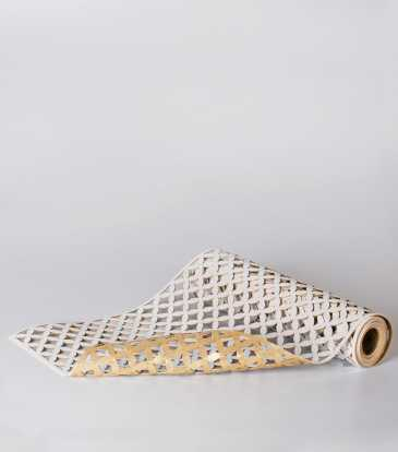 Fretwork Runner Silver/Gold