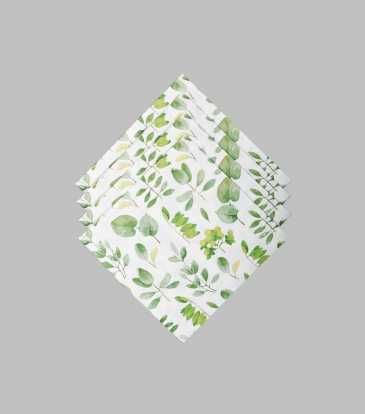 Fresh Leaves Paper Napkins Large S/20