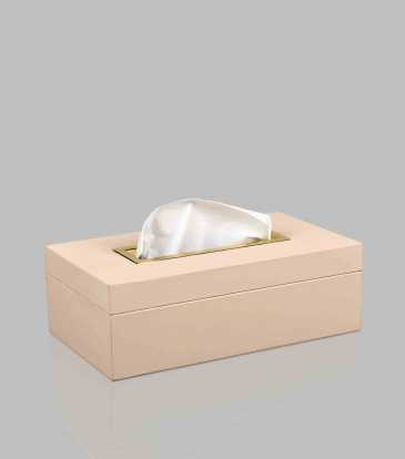 Quinn Tissue Box Cream