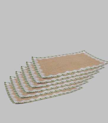 Organica Jute Placemat Set of 6