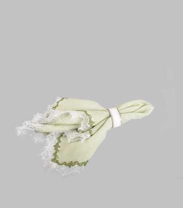 Classic Linen Napkin Green