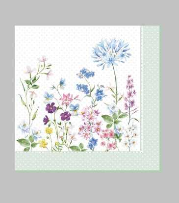Floraison Paper Napkins Set of 20