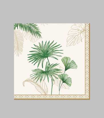 Exotique Paper Napkin Set of 20