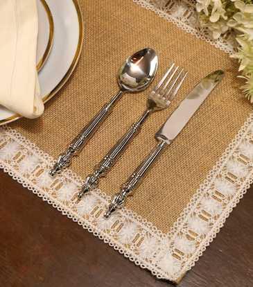 Sterling cutlery dinner forks