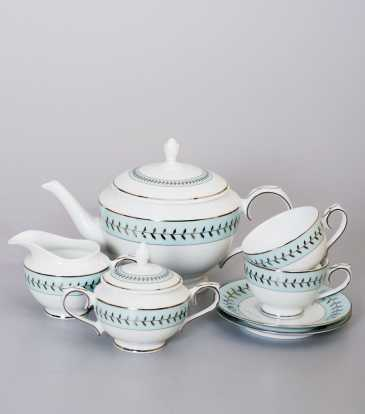 Rosemary Tea Set of 17