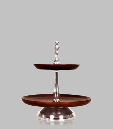 Walnut 2 tier