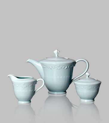 Serene Tea Set of 17