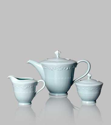 Serene Tea Set of 17