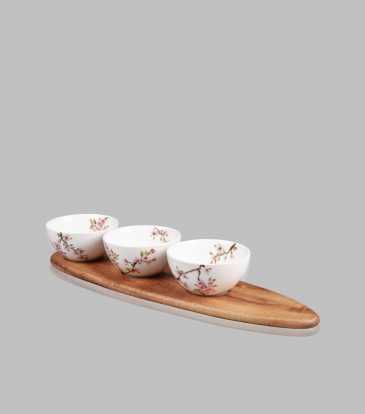 Sakura Appetizer Set of 3