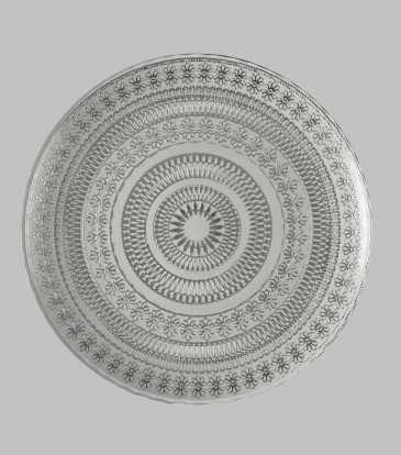 Brugge Platter Silver