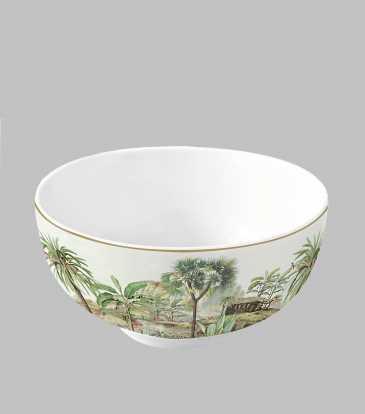 Ceylon Serving Bowl