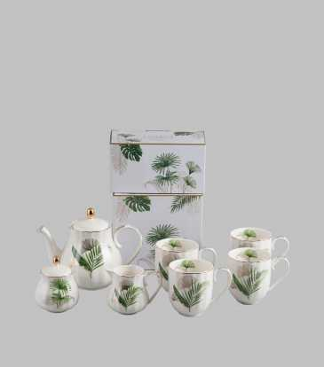 Exotique Coffee set of 9