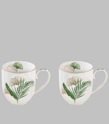 Exotique Coffee Mugs Set of 2