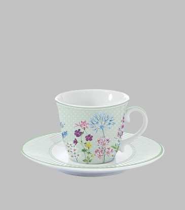 Floraison Cup & Saucer
