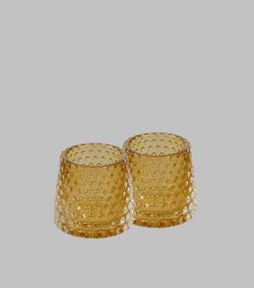 Chiaro Votive Gold set of 2