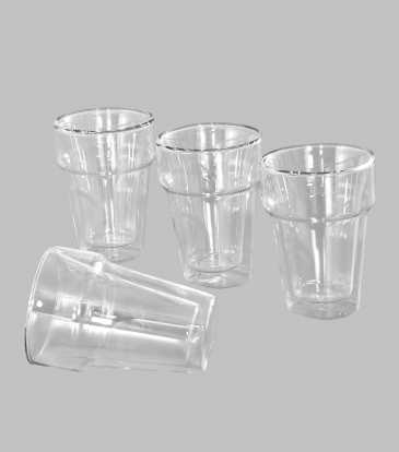 Double Walled Glasses Set of 4