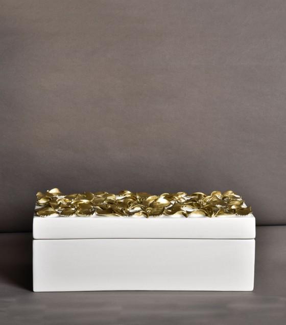 Gold Petals Box
