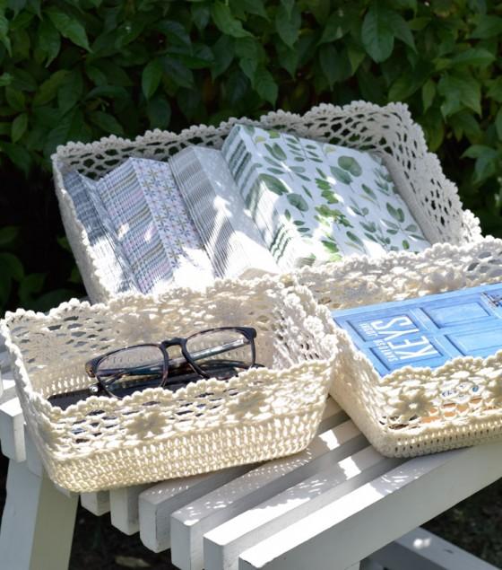 Crochet Basket Medium