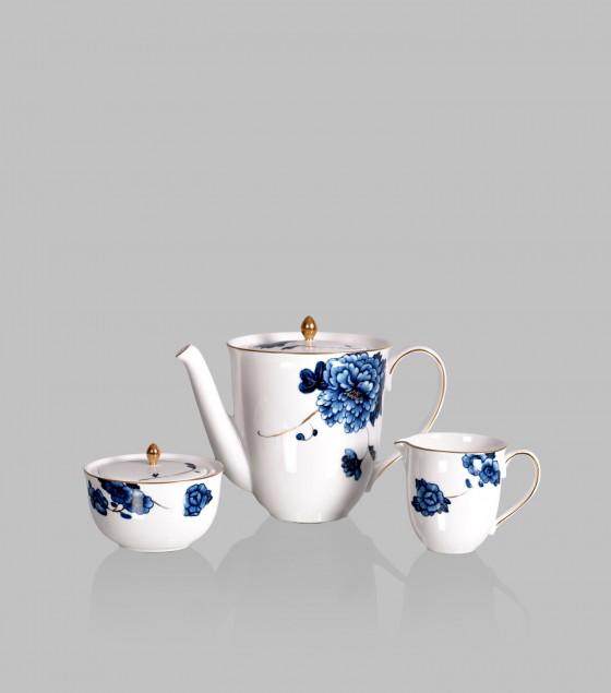 Emperor Flower Tea Set of 17