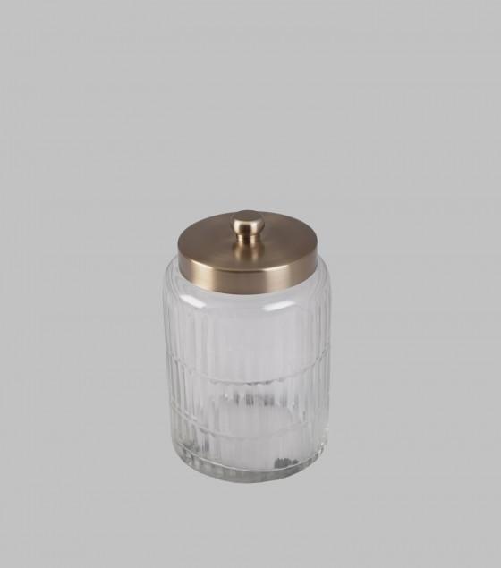 Ribbed Jar Small