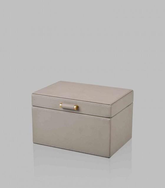 Quinn Jewellery Box Grey