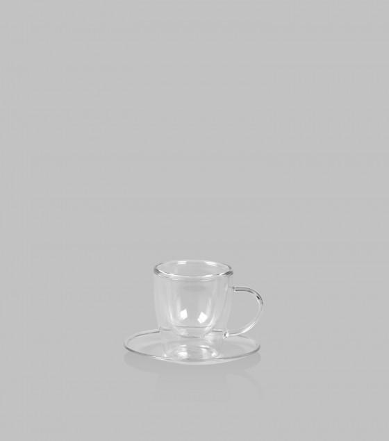 Espresso Cup & Saucers Set of 4