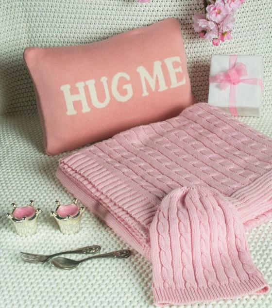 Blanket Granny's Love Pink