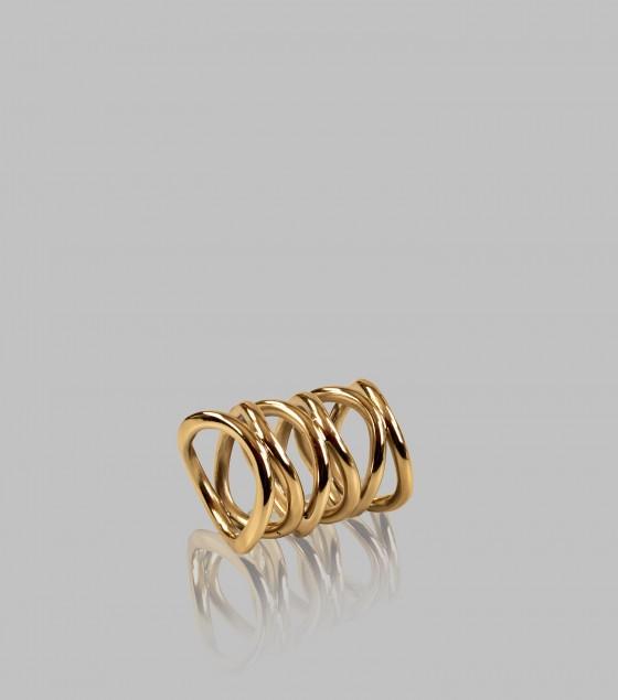 Spiral Napkin Ring Set Of 4