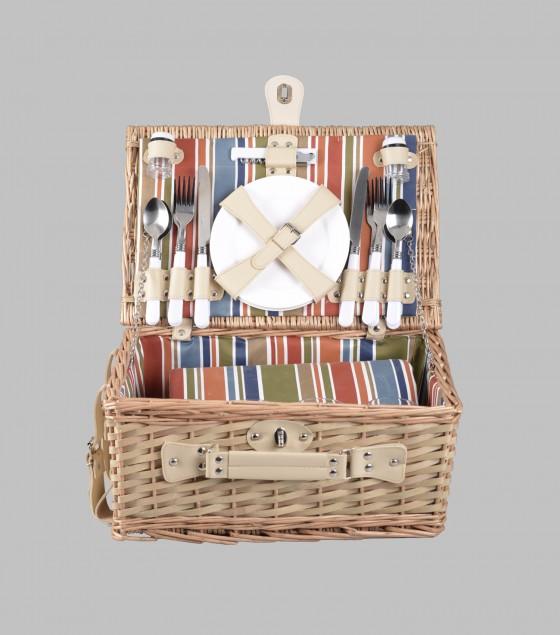 Willow picnic basket Beige