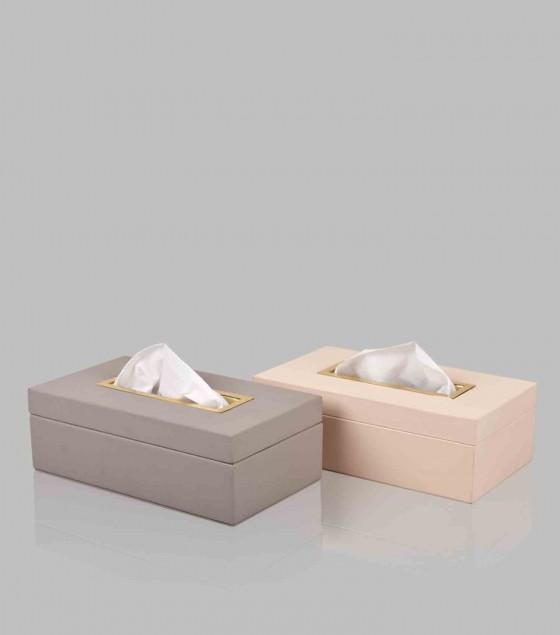 Quinn Tissue Box Cream