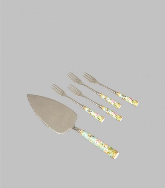 Palace Garden Desert forks set of 4