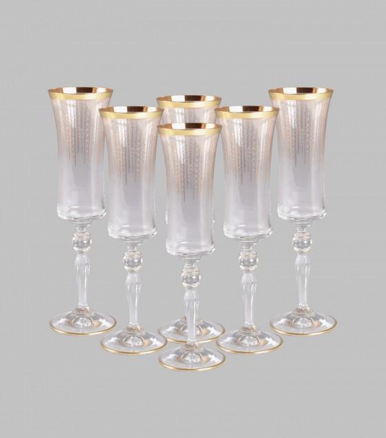 Celebration Champagne Glasses Set of 6
