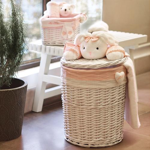 Bunny Bamboo Baskets
