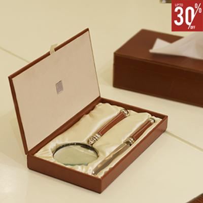 Paper knife & Magnifier Set of 2
